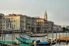 Gondolas. Venice Stock Images