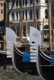 Gondolas Royalty Free Stock Photo