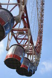 Gondolas. Ferris wheel gondolas at shanghai Royalty Free Stock Photography