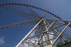 Gondolas. Ferris wheel gondolas at shanghai Stock Photography