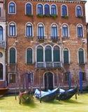 Gondolas at  Brick Building Stock Images