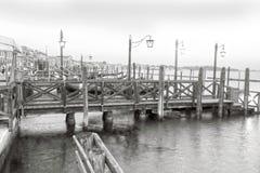 Gondolas, Canal Grande, Venice, Veneto, Venetia, Italy Royalty Free Stock Photo
