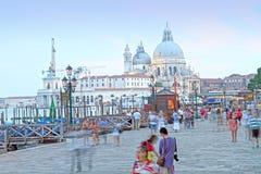 Gondolas, Canal Grande, Venice, Veneto, Venetia, Italy Stock Images