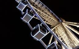 Gondolas On A Ferris Wheel royalty free stock photo