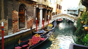 Gondolas stock photography
