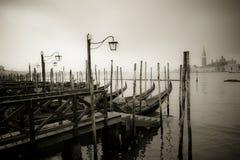 Gondolas at Grand Canal, Venice Royalty Free Stock Photo