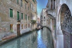 Gondolas in Grand canal ,venice,italy Royalty Free Stock Photos