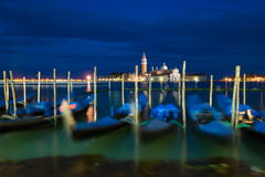 Gondolas at Grand Canal, Venice, Italy Royalty Free Stock Photos
