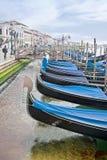 Gondolas. HDR Royalty Free Stock Image