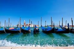 Free Gondolas In Venice Royalty Free Stock Photography - 15458437