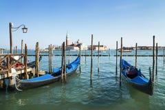 Gondolas in Venezia Stock Photography