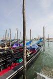 Gondolas San Marco Venice Stock Images