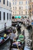 Gondolas San Marco Venice Stock Photos