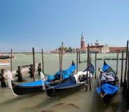 Gondolas at Sea Stock Photos