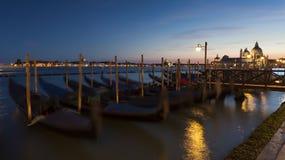 Gondolas at St Marks Square, Venice Royalty Free Stock Photo