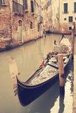 gondolas Venecia Italia Imagen de archivo