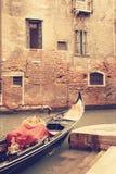 gondolas Venetië Italië Stock Foto's