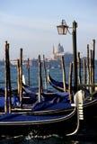 Gondolas- Venetië, Italië royalty-vrije stock afbeelding