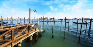 Gondolas in Venezia Stock Photos