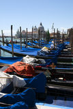 Gondolas in Venice Royalty Free Stock Photography