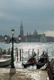 Gondolas Venice Stock Photos