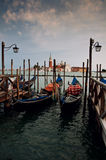 Gondolas  ,Venice Royalty Free Stock Image