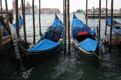 Gondolas of Venice Royalty Free Stock Photos