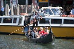 Gondolas in Venice Stock Image
