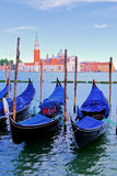 Gondolas of Venice Royalty Free Stock Photo