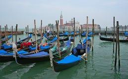 Gondolas in Venice Royalty Free Stock Image