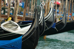 Gondolas. Venice Royalty Free Stock Photos