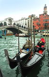 Gondolas in Venice Royalty Free Stock Images