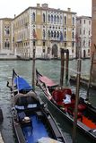 Gondolas of Venice Royalty Free Stock Image