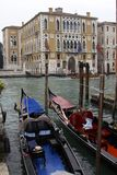 Gondolas of Venice Royalty Free Stock Photography
