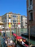 Gondolas Venice Royalty Free Stock Images