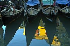 Gondolas, Venice. Royalty Free Stock Photo