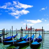 Gondolas of Venice Stock Photos