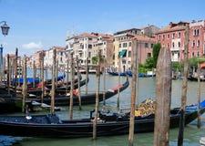 Gondolas. Venice gondola ride Stock Image
