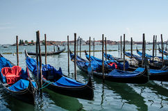 Gondolas of Venice. Stock Photos