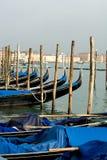 Gondolas, Venice, Italy Royalty Free Stock Photos