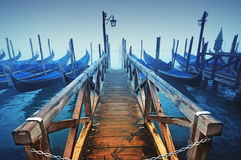 Gondolas, Venice - Italy Royalty Free Stock Image