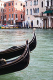 Gondolas in Venice, Italy. Stock Images