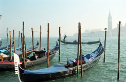 Gondolas, Venice, Italy Stock Image