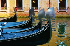 Gondolas, Venice, Italy Stock Photo