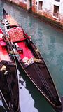 Gondolas in Venice Italy Canal Royalty Free Stock Photo
