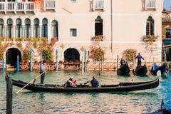 Gondolas, Venice Stock Images