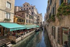 Gondolas in Venice, Italy Stock Image
