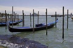 Gondolas in Venice,Italy Royalty Free Stock Photography