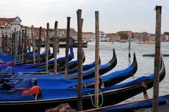 Gondolas in Venice, Stock Photography