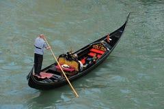 Gondolas in Venice, Royalty Free Stock Photos
